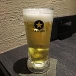 熊本 馬源  - 生ビール