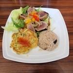 スマイルキッチン - カツオのマリネプレート