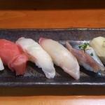 つばさ寿司 - 個人的にまぐろ赤身が一番でした‼