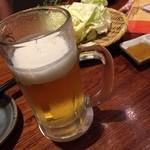 39858420 - 夏は冷たいビールだね!