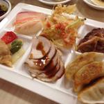 鬼怒川御苑 - 餃子、寿司、天ぷら、ステーキなど(^∇^)