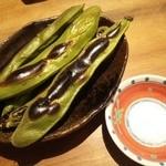 ふく鶴 - そら豆焼き