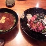 39862849 - ローストビーフ丼セット\1,490