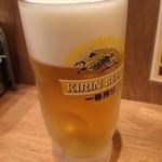 串かつ でんがな - 生ビール