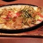 V-HANDS ANA BAR 穴場 - 豆腐ステーキ 700円くらい