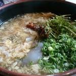 ワイナリーレストラン朝霧の庄 - 第1回大分B級グルメ第5位 すっぽんラーメン ¥1.620(税込)