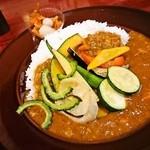 銀座ライオン - 夏野菜カレー