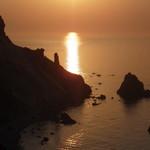 シロクマ食堂 - 赤岩海岸の夕景