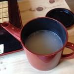 蕎麦処 道香庵 - そば湯は濃い