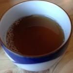 蕎麦処 道香庵 - セルフの蕎麦茶