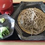 ぼたん亭 - もり蕎麦、500円です。
