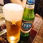 Bistro ひつじや - トルコビールEFES