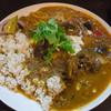 マタタビ - 料理写真:ある日のカレー三種盛