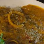 マタタビ - 烏賊とレンズ豆のココナッツミルク部