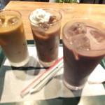 39873576 - ハワイコナブレンドアイスコーヒー・アイスココア・アサイーBミルク