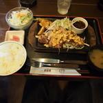 ぐるめ亭 - サーロインステーキ定食180g