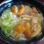 仁世宇園 - ナメコの味噌汁