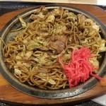 富士宮やきそば こころ - 肉入り富士宮焼きそば  690円