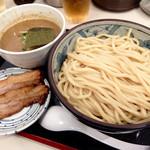 自家製麺つけそば 九六 - 201507 つけそば大350g(780円)+チャーシュー(200円)