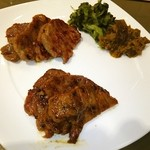 伊達の牛たん本舗 - 牛たん、味噌焼き(手前)塩焼きのミックス❤