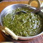 サマナラ - ほうれん草のカレーです★円やかでやさしいお味