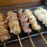 おか田 - 串盛り5本