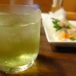和風レストラン ぴき - ドリンク写真:有泉ライム