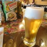IVO ホームズパスタ - 生ビール登場。