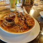 IVO ホームズパスタ - アサリとトマトのスパゲッティ