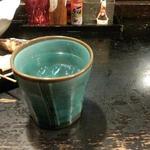 串や - 黒霧島(ロック)400円