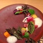 39883188 - 千葉エコファームアサノと能登高農園の野菜を菜園風に