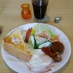 吉平 - モーニングサービス 600円