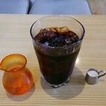 吉平 - モーニングサービスのアイスコーヒー