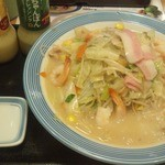 リンガーハット - 野菜たっぷりちゃんぽん(えび追加)
