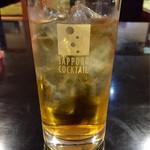 とんかつ かつひろ  - 緑茶ハイ