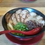 39889205 - 豚骨Wチャーシュー麺