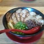 39889209 - 豚骨Wチャーシュー麺