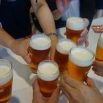 キリンビール 横浜工場 - 乾杯!!