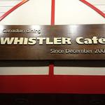 ウィスラーカフェ - 看板