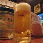ばるぼら屋 - 生ビール