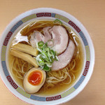 煮干鰮らーめん 圓 - 2015-07-13 煮干し