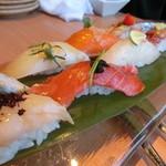橙家 - お任せ寿司の盛り合わせ 祭り