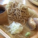 文治郎 - ザルとコンニャク寿司