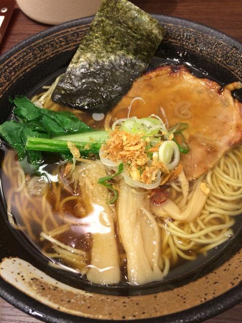 麺屋 空海 品川店 - 空海そば(醤油)