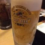 しゃぶらく - 生ビール