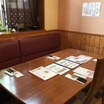 舟木亭 - テーブル席