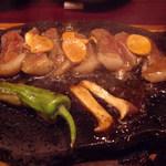 399158 - 牛肉の鉄板焼き