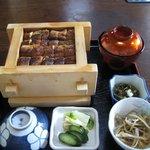 柳川 - せいろ定食(2205円)