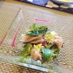 Furenchidaininguryuu - 生ハムとパスタのサラダ仕立て