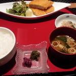 39900503 - 本日の魚料理のメバチマグロカツ